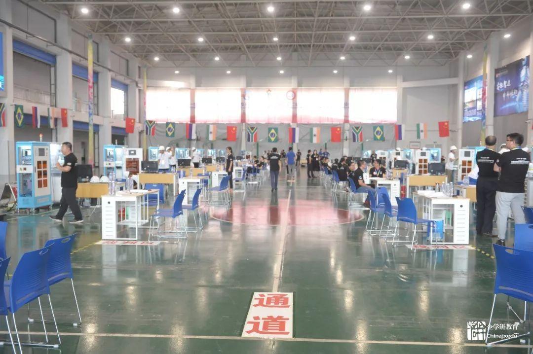 2019金砖+大赛工业机器人装调维修技术赛项精彩大放送!